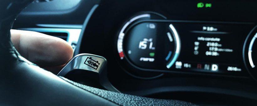 Régénérer des kW en voiture électrique : beaucoup de monde dans les patates