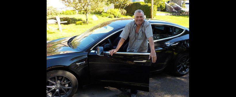 Des nouvelles de la Tesla 3 de mon fils