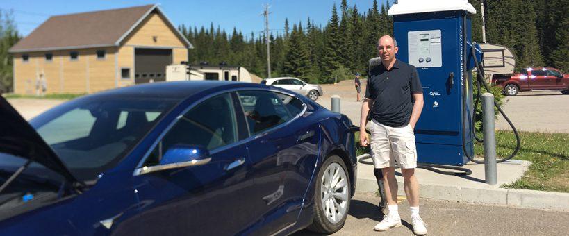 Témoignage : se rendre au Saguenay en véhicule électrique