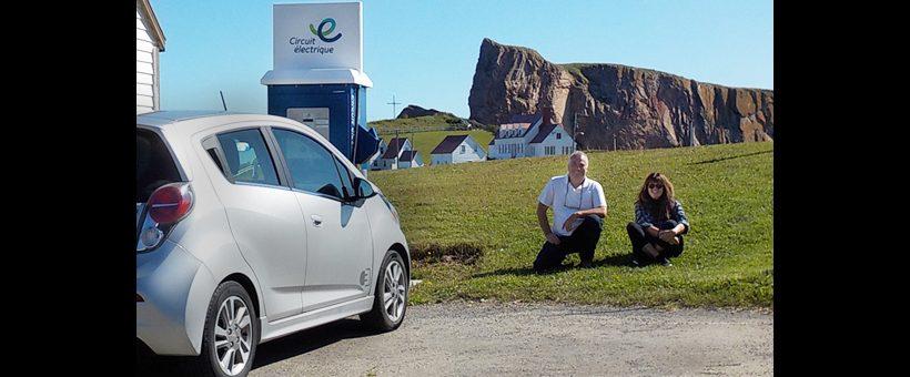 La Gaspésie en voiture électrique
