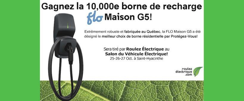 10 000e borne FLO G5: gagnez votre borne !