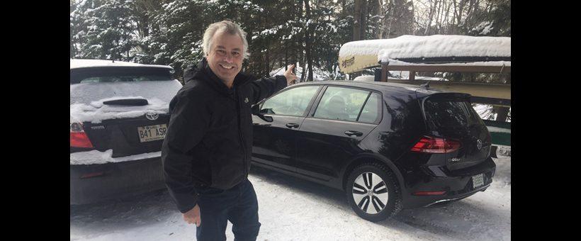 4 jours au volant d'une VW Golf 100% électrique (1 de 2)
