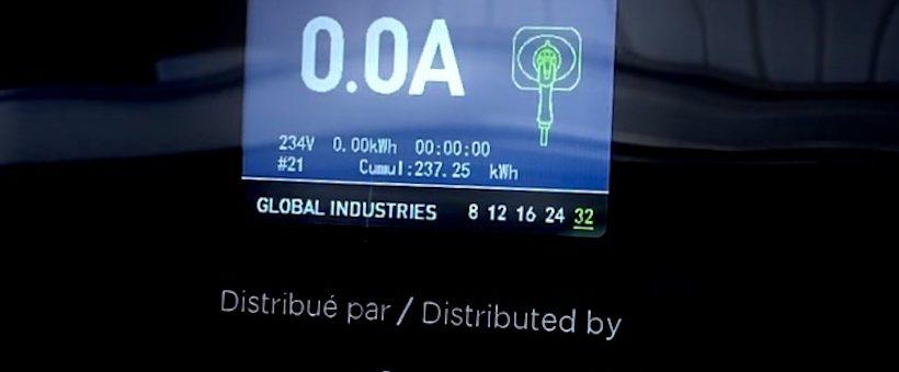 VIDEO-Borne portable EV-ONE : changez le courant maximum en 8 secondes !