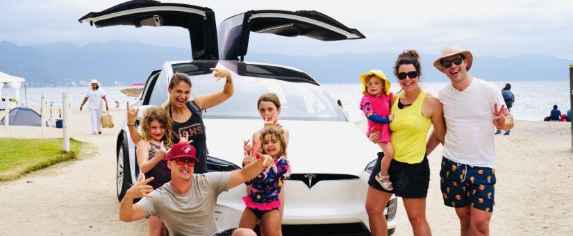 Conduire une Tesla au Mexique