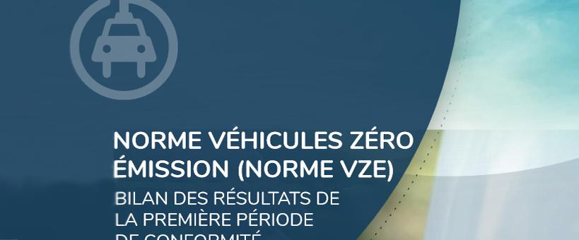 Bilan VZE période #1 – près de 4 fois plus de crédits VZE que requis !