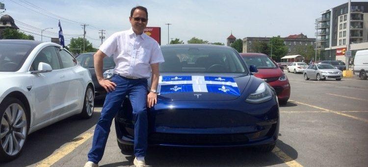 Des voitures de police 100% électrique au Québec, pourquoi pas ?