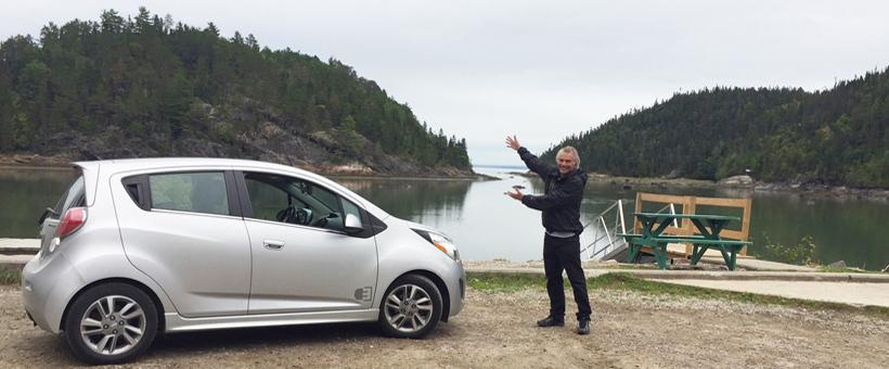 Le Québec en voiture électrique
