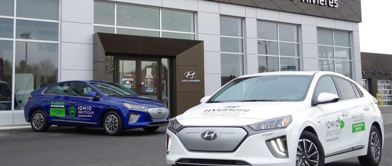Hyundai Ioniq électrique disponible pour essai