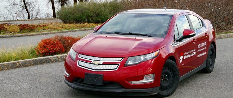 Expériences avec la Chevrolet Volt