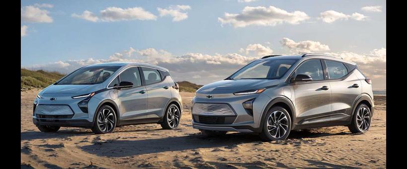 Je suis très excité par les deux nouvelles Chevrolet Bolt !