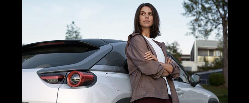 J'apprends qu'au moment où Volkswagen va mettre en vente son VUS électrique, Mazda va proposer le sien !